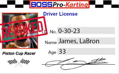 LeBron Licence